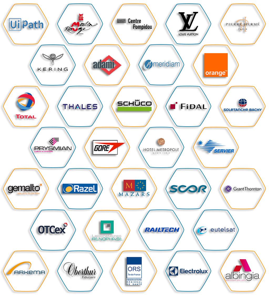 CE partners logos